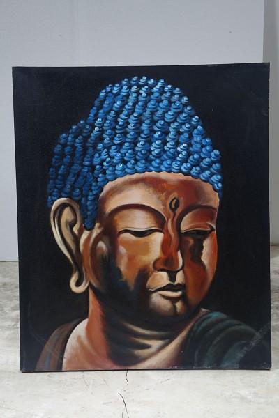 Wandbild MYSTIC BUDDHA, handgefertigt