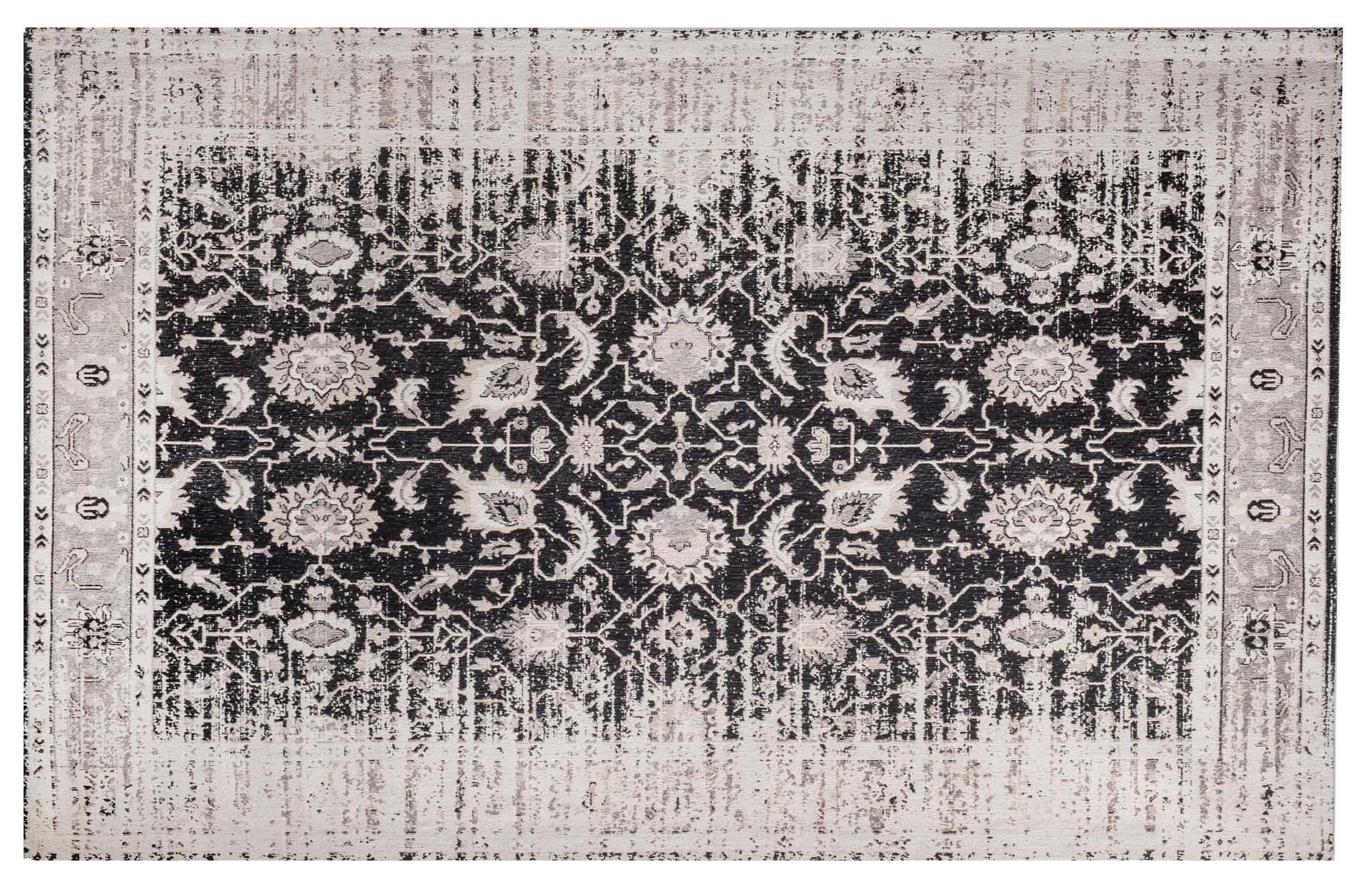 Vintage teppich yosh 200 x 300 cm grau schwarz coole deko for Besondere dekoartikel