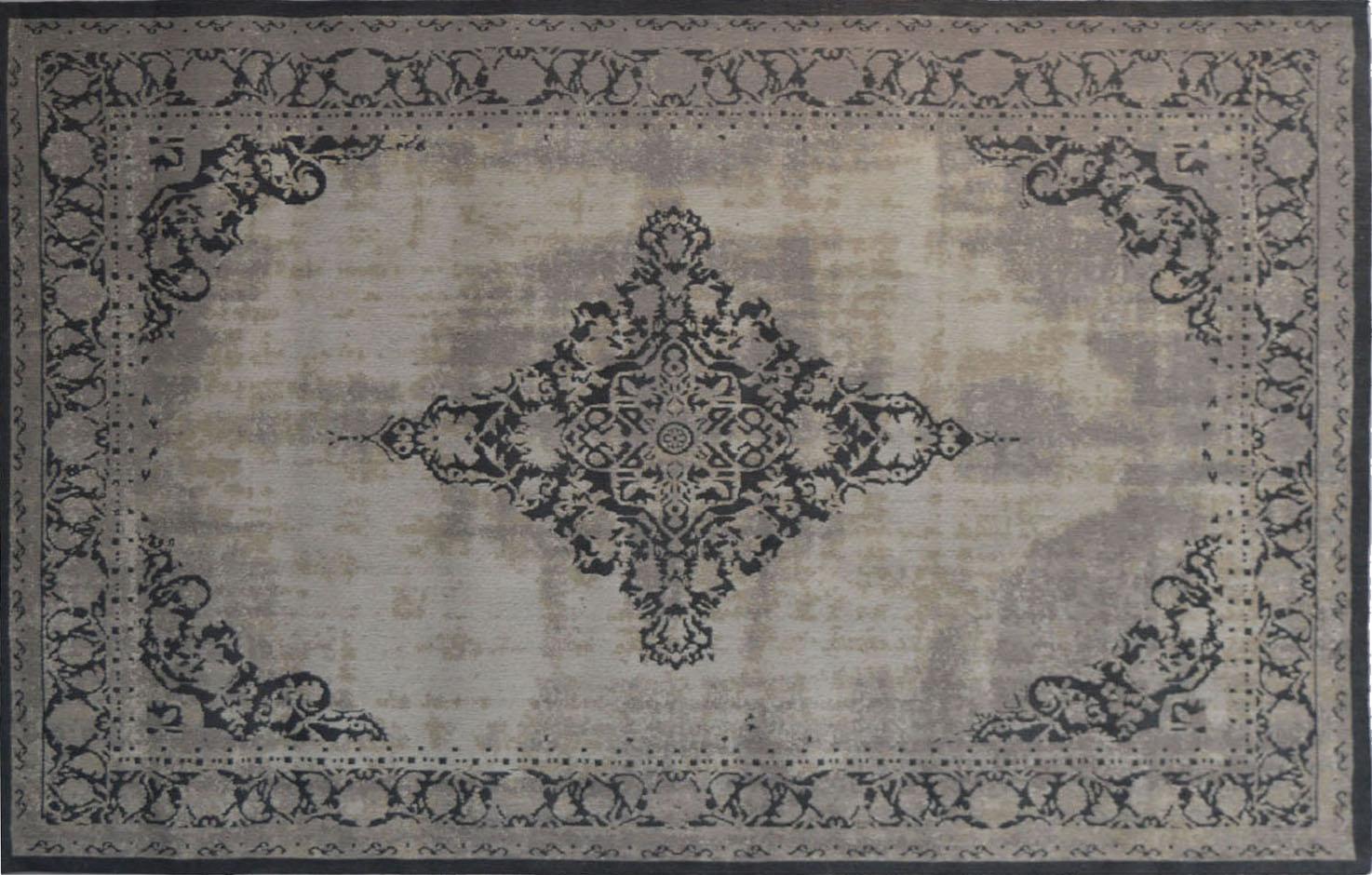 Vintage orient teppich antiquity 170 x 240 cm grau for Besondere dekoartikel