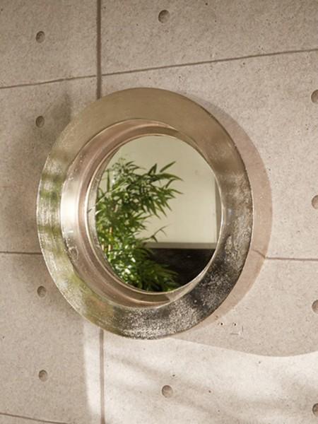 Wandspiegel, rund