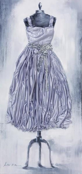 Wandbild KLEID 1, handgemalt, in Acrylfarben