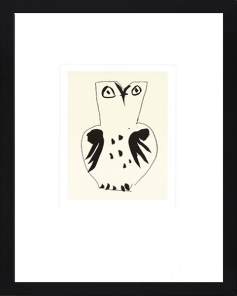 Picasso-Kunstdruck EULE