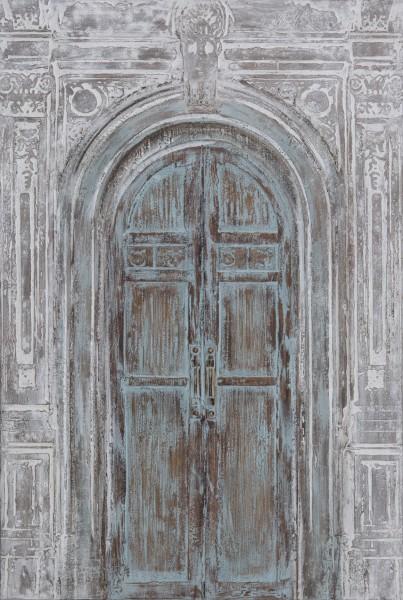 3 D-Wandbild Tür antik