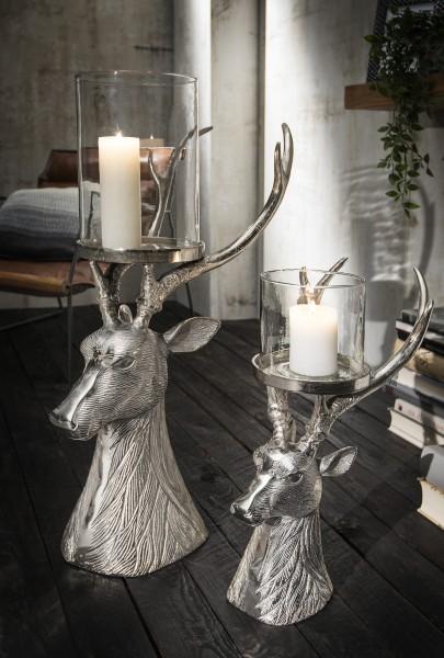 Deko-Kerzenständer HIRSCH