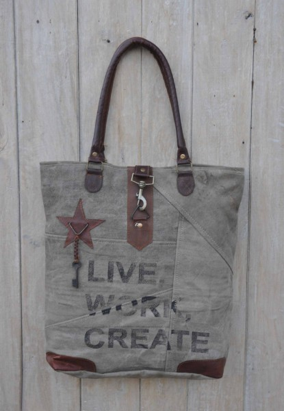 Shopper / Tasche LIVE WORK CREATE