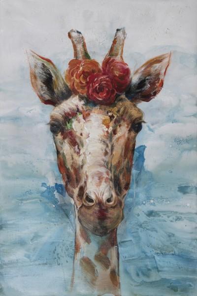 Wandbild Giraffe