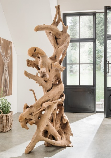 Holzskulptur / Deko-Wurzel als Standobjekt, Unikat