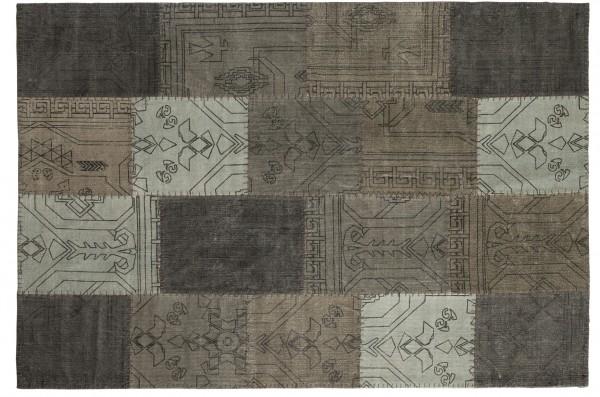 Vintage-Teppich STONE PATCH, multicolor-beige