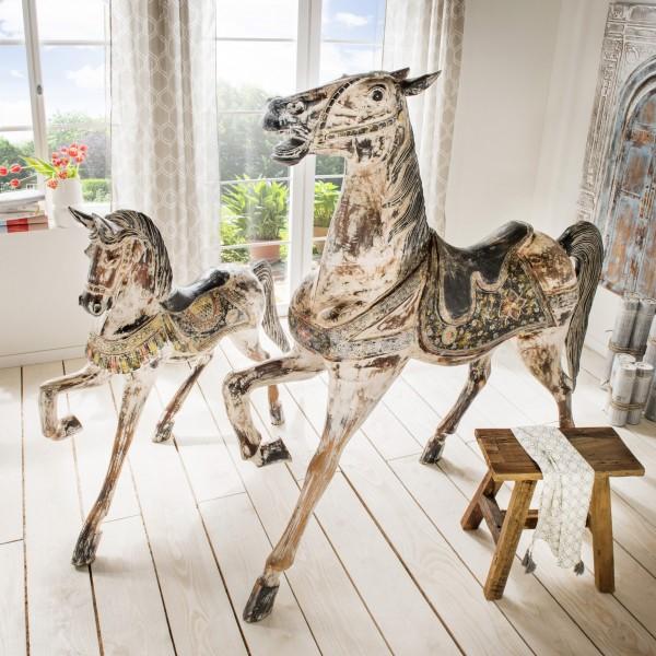 Deko-Pferd, handgefertigt und -bemalt