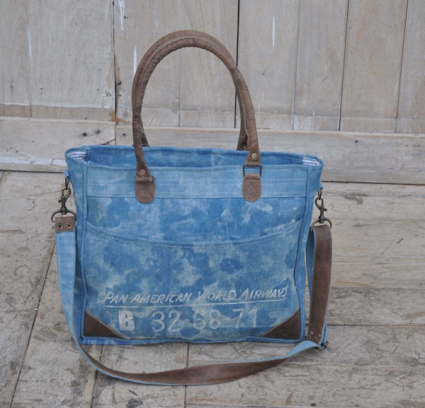 Henkeltasche / Tasche BLUE PAN AMERICAN