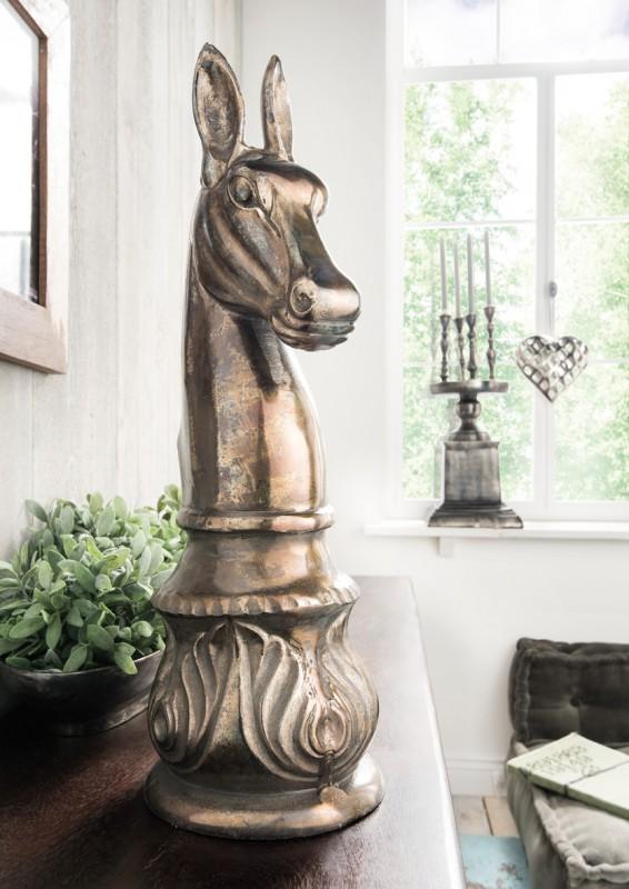 Metallskulptur / Dekofigur PFERD