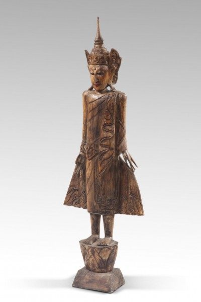 Holzfigur THAIPRINZ NR.3