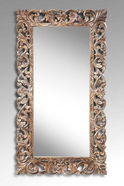 Spiegel / Wandspiegel ANTIQUE, mit Holzrahmen